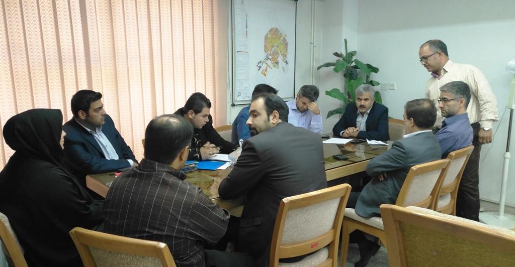 جلسه کارگروه بازشماری سازمان ملی زمین و مسکن