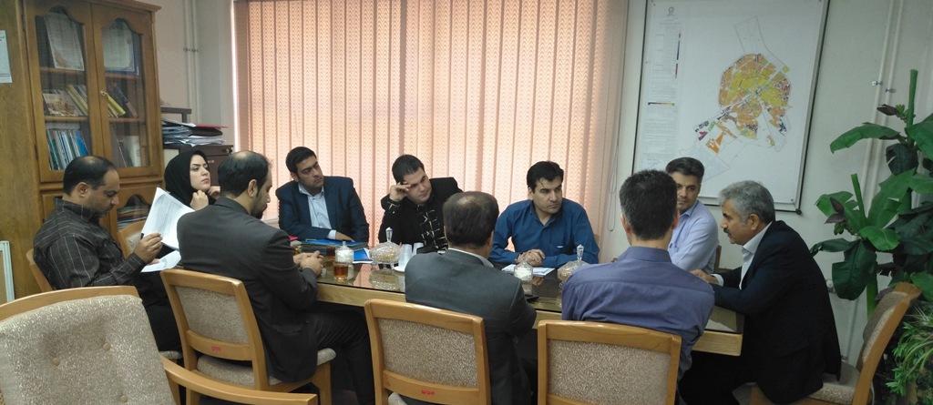 جلسه کارگروه بازشماری منابع سازمان ملی زمین و مسکن